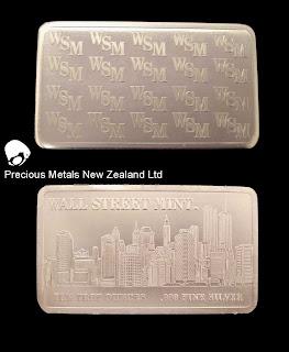 Wall Street Mint bullion