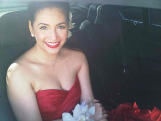 Regine Velasquez in her wedding gown