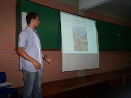 Defesa de trabalho de conclusão de curso de Guilherme Viana.