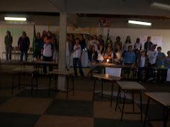 Abertura da Feira de Ciências de 2008.