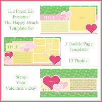 The Happy Hearts Template Set