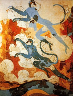 Blue Monkey fresco