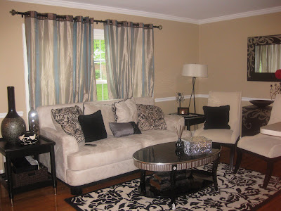 home decor damask living room