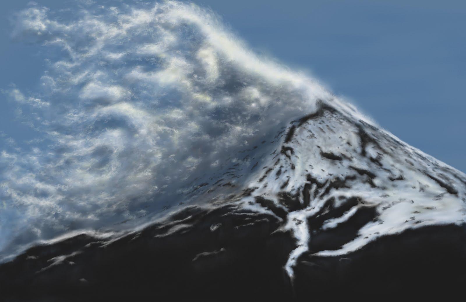 tim johnson art blog  mountain god