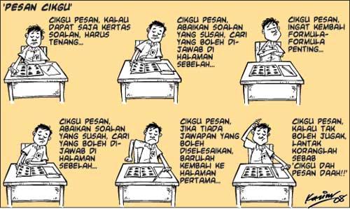 Tarikh Peperiksaan UPSR, PMR, SPM dan STAM Tahun 2013