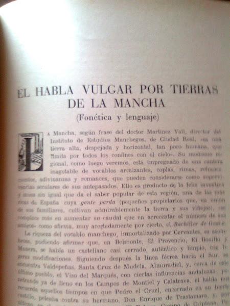 CANCIONERO MUSICAL POPULAR MANCHEGO DE PEDRO ECHEVARRÍA BRAVO.