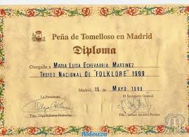 PEÑA DE TOMELLOSO EN MADRID