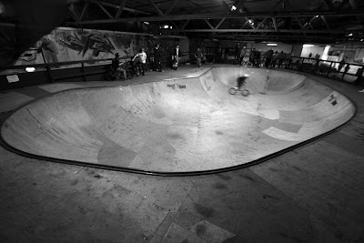 skateboarding corby skatepark bowl