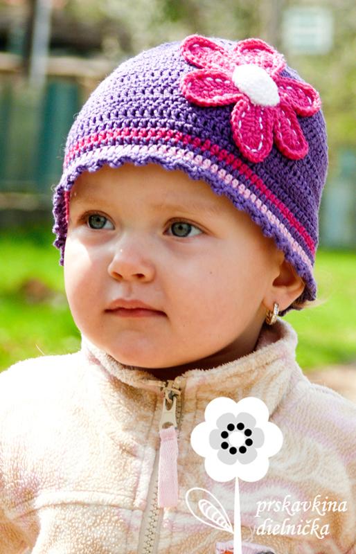 Lilla (návod na háčkovanú čiapočku)