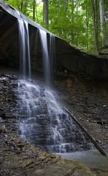 Blue Hen Falls - Cuyahoga Valley National Park - Peninsula, Ohio