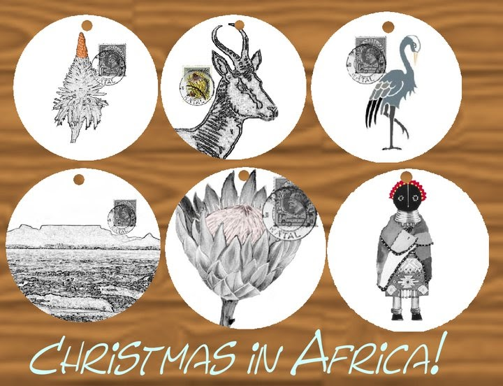 The deco collection sa christmas decorations with a twist for African christmas decoration
