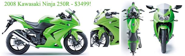 2008 Kawasaki Ninja 250R: Updated specs , new pics