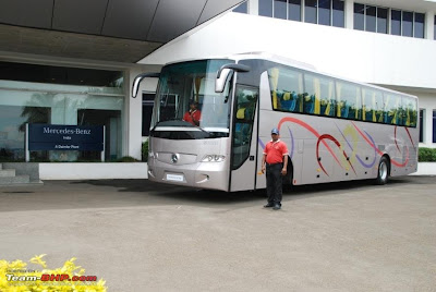 Mercedez Benz on Mercedes Benz Buses Come To India