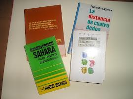 BIBLIOGRAFIA SOBRE EL SAHARA OCC.