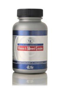 foto 4Life Transfer Factor Vitamin dan Mineral Kompleks
