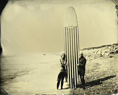 Vintage Surf Photo - Black and White Seen On  www.coolpicturegallery.us
