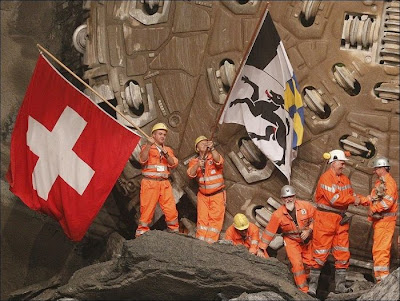 Gotthard Base Tunnel in Switzerland Seen On  www.coolpicturegallery.us