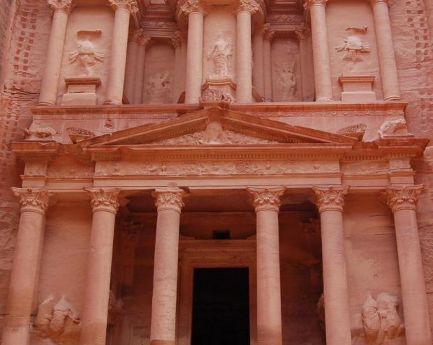 My funny petra a city carved in stone middle east