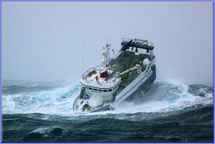 Amazing Images Blog Very Rough Water And Fishing On The