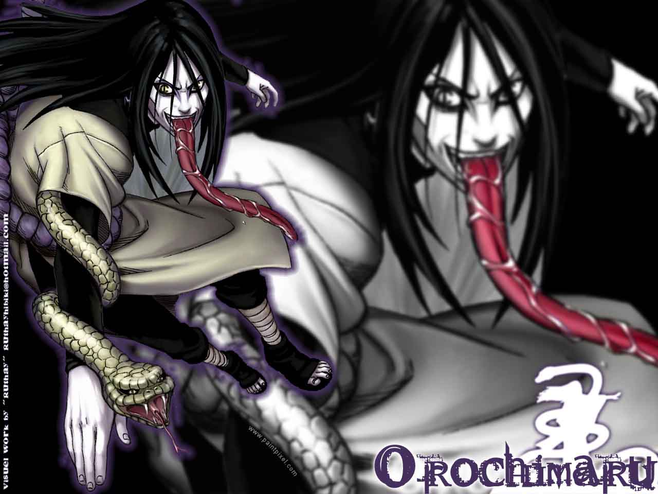 Orochimaru Best Anime Wallpaper
