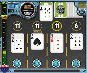 Playing blackjack online for money