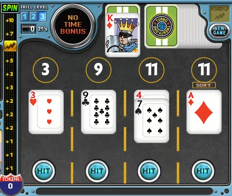 turbo 21 card game online