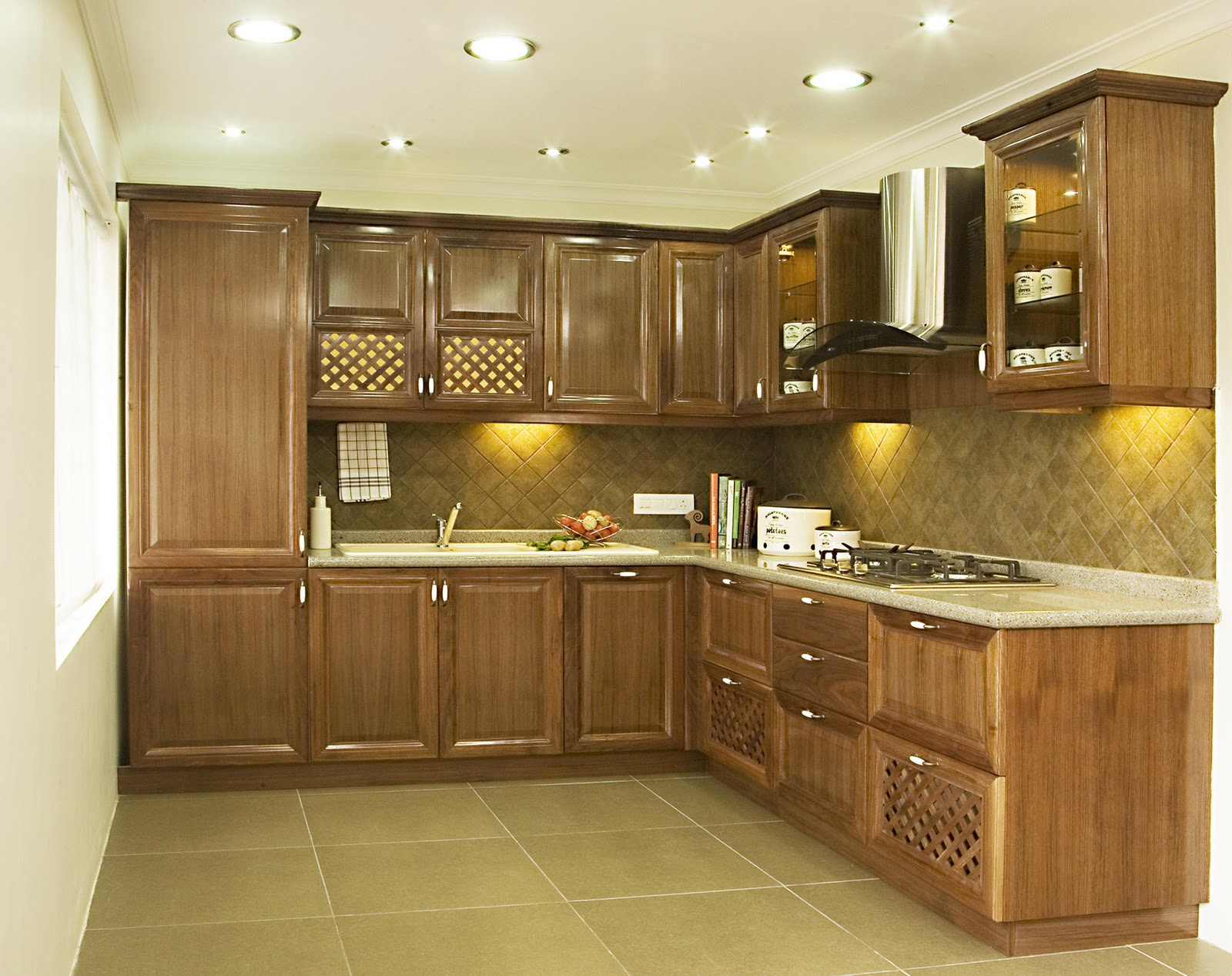 Press release watch showcase of kitchen design by oaktree kitchens Pakistani kitchen cabinet design pictures