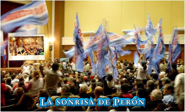 La Sonrisa de Perón, al fin vivimos en un estado peronista.
