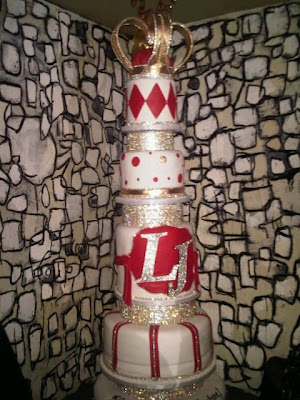 LeBron James' birthday cake
