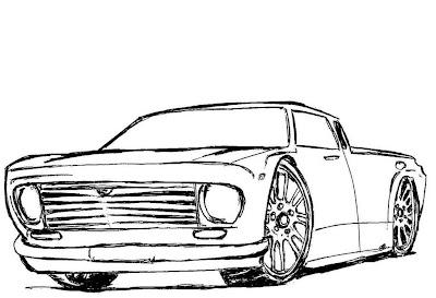desenhar mais carros homen   para colorir e colorir