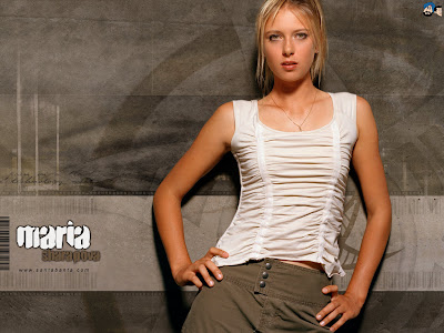 Maria Sharapova on Maria Sharapova Wallpapers