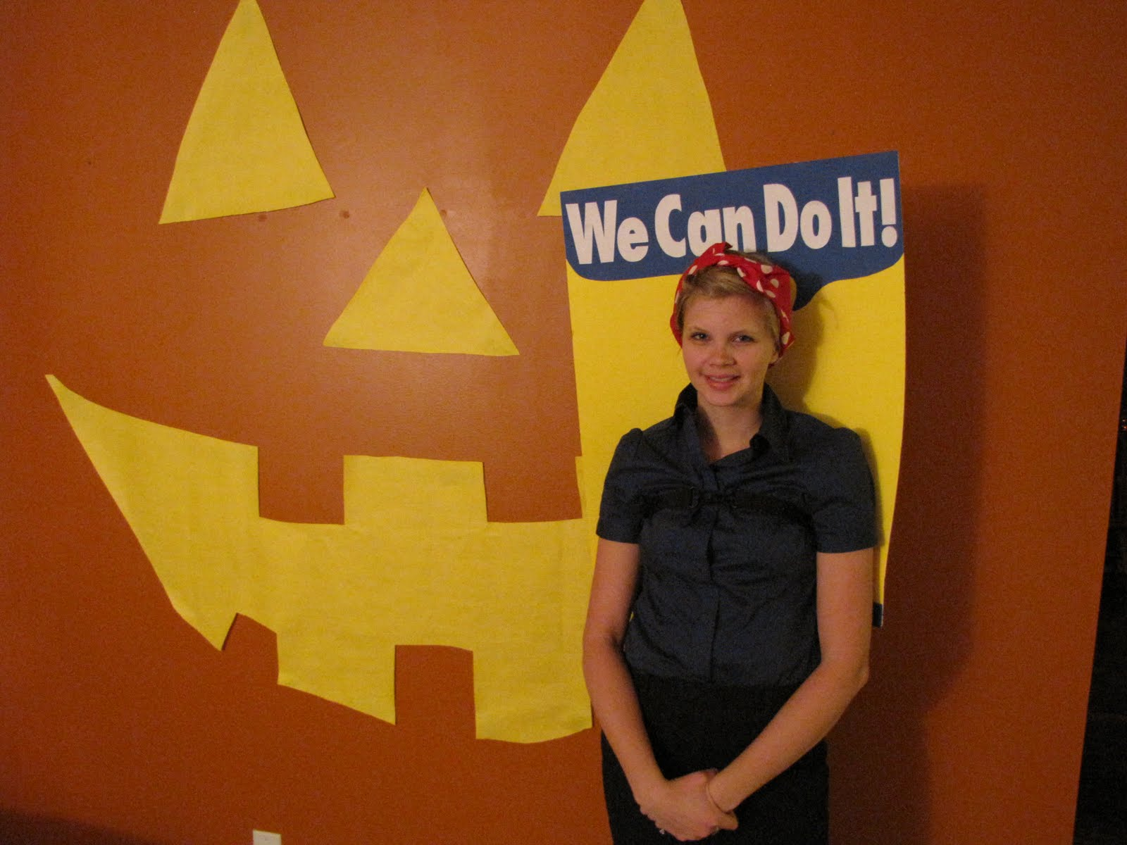 Happy Halloween From Rosie The Riveter
