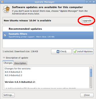 How to upgrade ubuntu