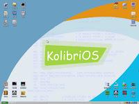 Kolibri OS Desktop