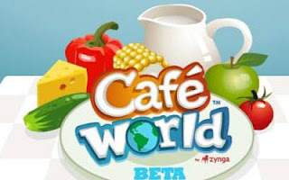 famous cafe world game for facebook