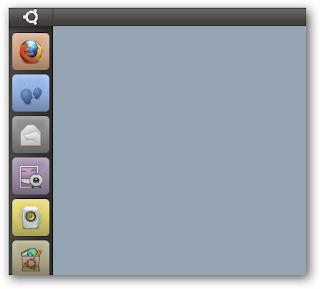Unity apps menu