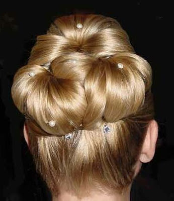 Wedding Updo Haircut Styles  2009