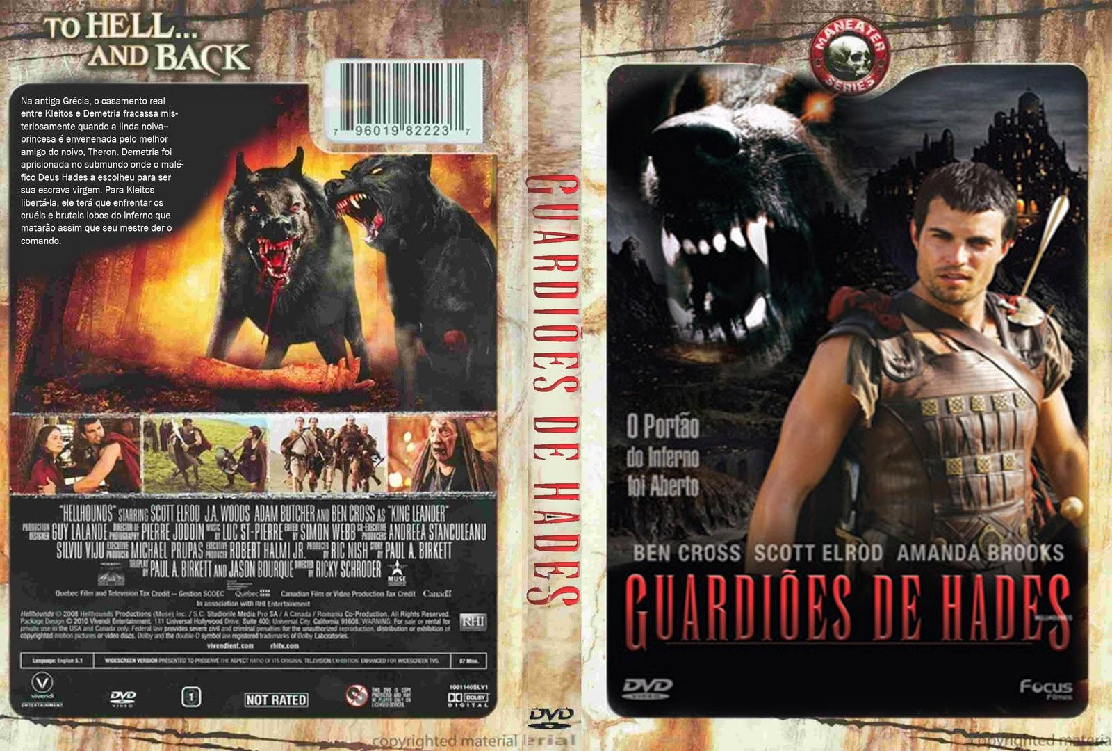Filme Hades for dc capas: guardiões de hades