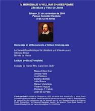 IV Homenaje a William Shakespeare. 2009