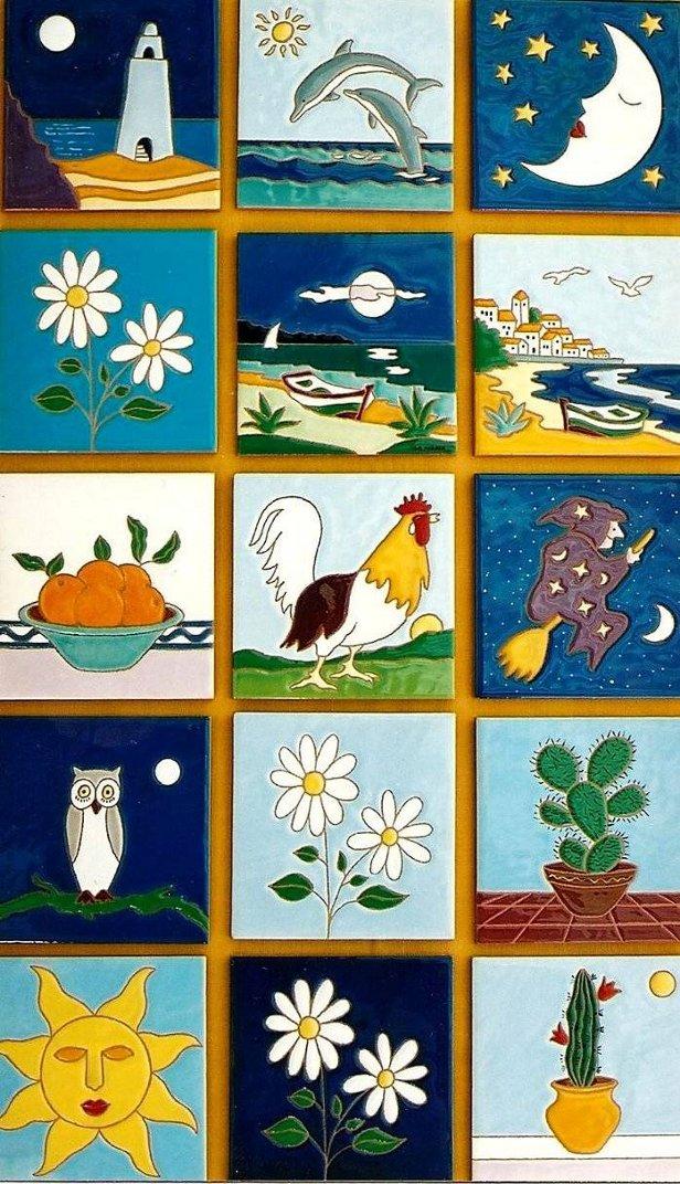 Ceramicart azulejos decorados for Azulejos decorados