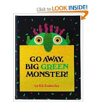 Go Away Big Green Monster Activity