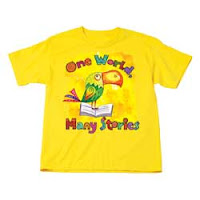 kids' summer reading t-shirt