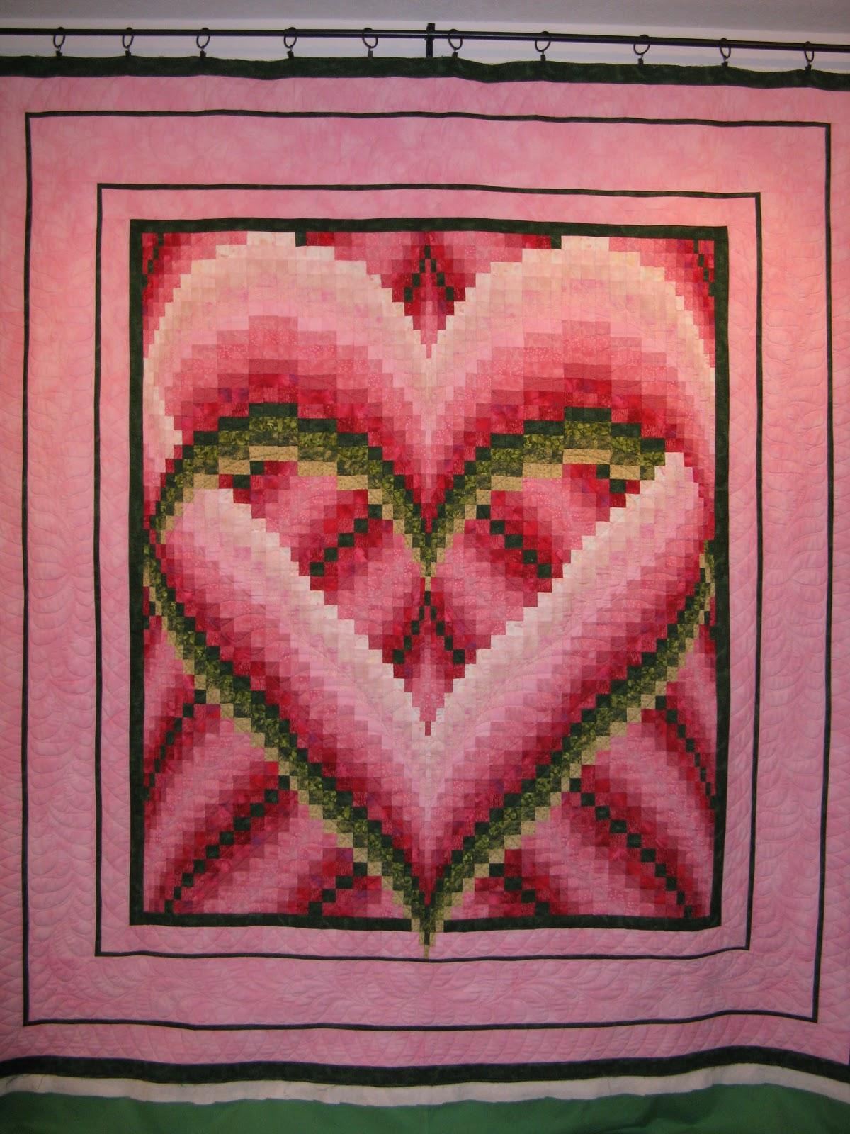 Melinda Heart Quilt Pattern Free