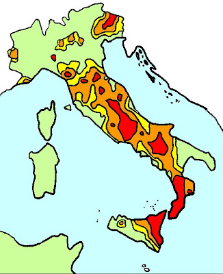 La taverna di atlante aprile 2009 for Rischio sismico in italia