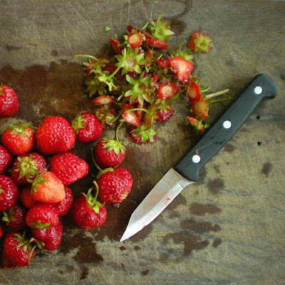 Preserving Strawberries by Freezing Strawberries For Freezing
