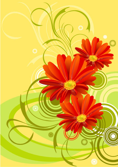 gerbera-flower-background-010