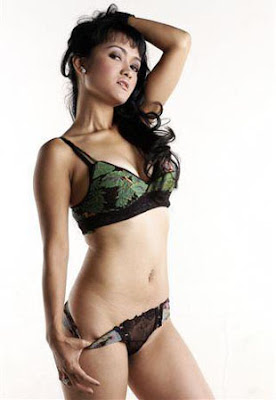 Julia Perez an Indonesian Model