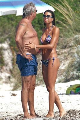 Elisabetta Gregoraci  In Bikini