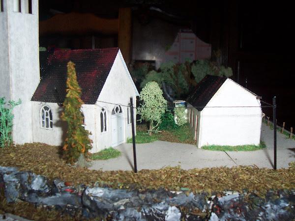 la chapelle et l'auberge au bord du lac