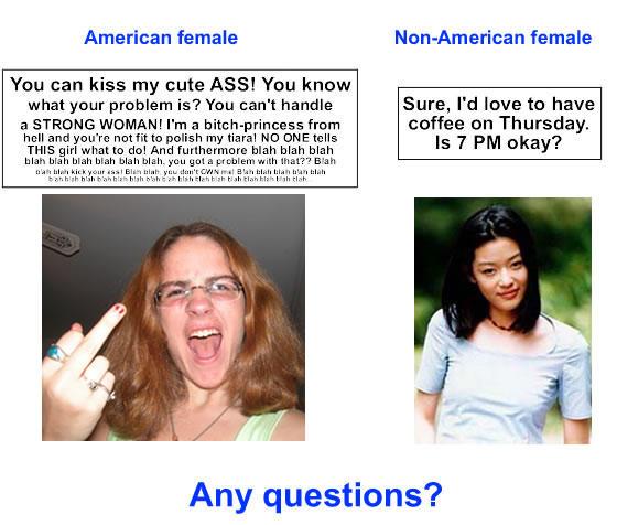 Foreign Women Local Women In 21